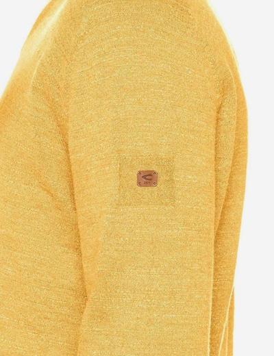 CAMEL ACTIVE Trui in de kleur Geel, Productweergave