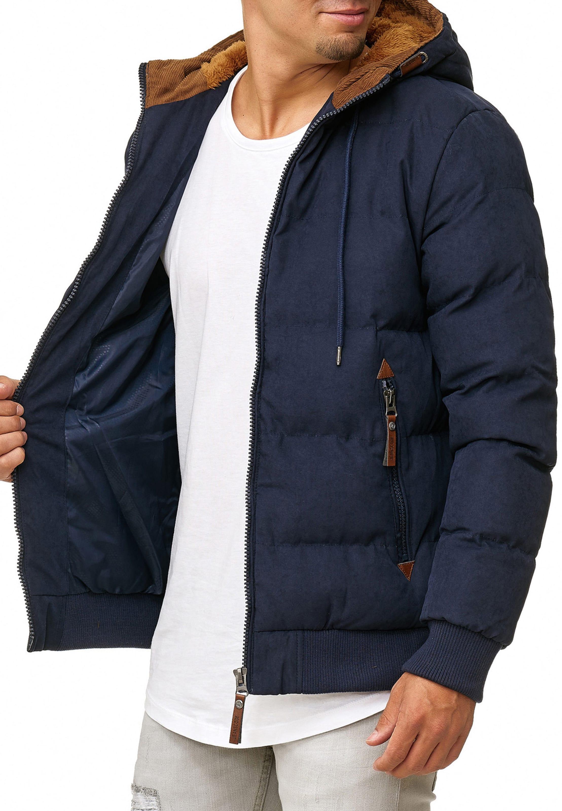 MarineMarron Bleu Jeans Veste D'hiver En 'adeline' Indicode 3uK1JTlFc