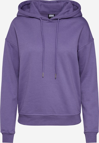 Urban Classics Sweatshirt i lilla