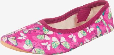 BECK Ballerina in pink / weinrot, Produktansicht