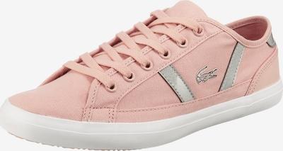 LACOSTE Sneaker 'Sideline' in pink / silber, Produktansicht