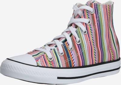 CONVERSE Augstie apavi 'CHUCK TAYLOR ALL STAR - HI' pieejami jauktu krāsu / balts, Preces skats