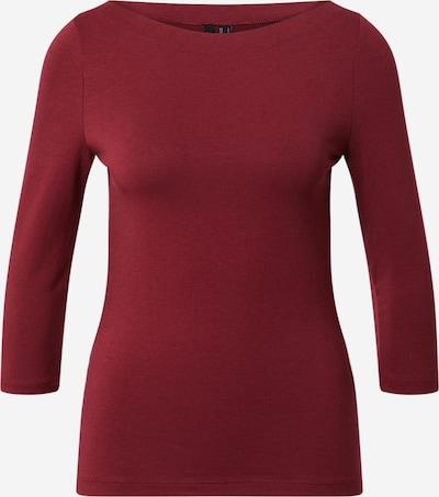 VERO MODA Shirt 'PANDA' in de kleur Bordeaux, Productweergave