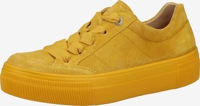 Legero Baskets basses en jaune, Vue avec produit