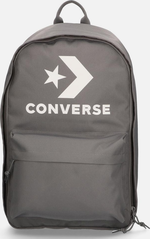 CONVERSE Laptoprucksack 'EDC 22 Backpack' in taupe / graumeliert: Frontalansicht