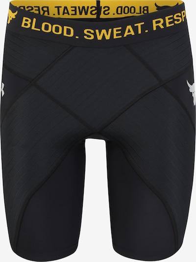 UNDER ARMOUR Pantalon de sport 'PROJECT' en orange / noir, Vue avec produit