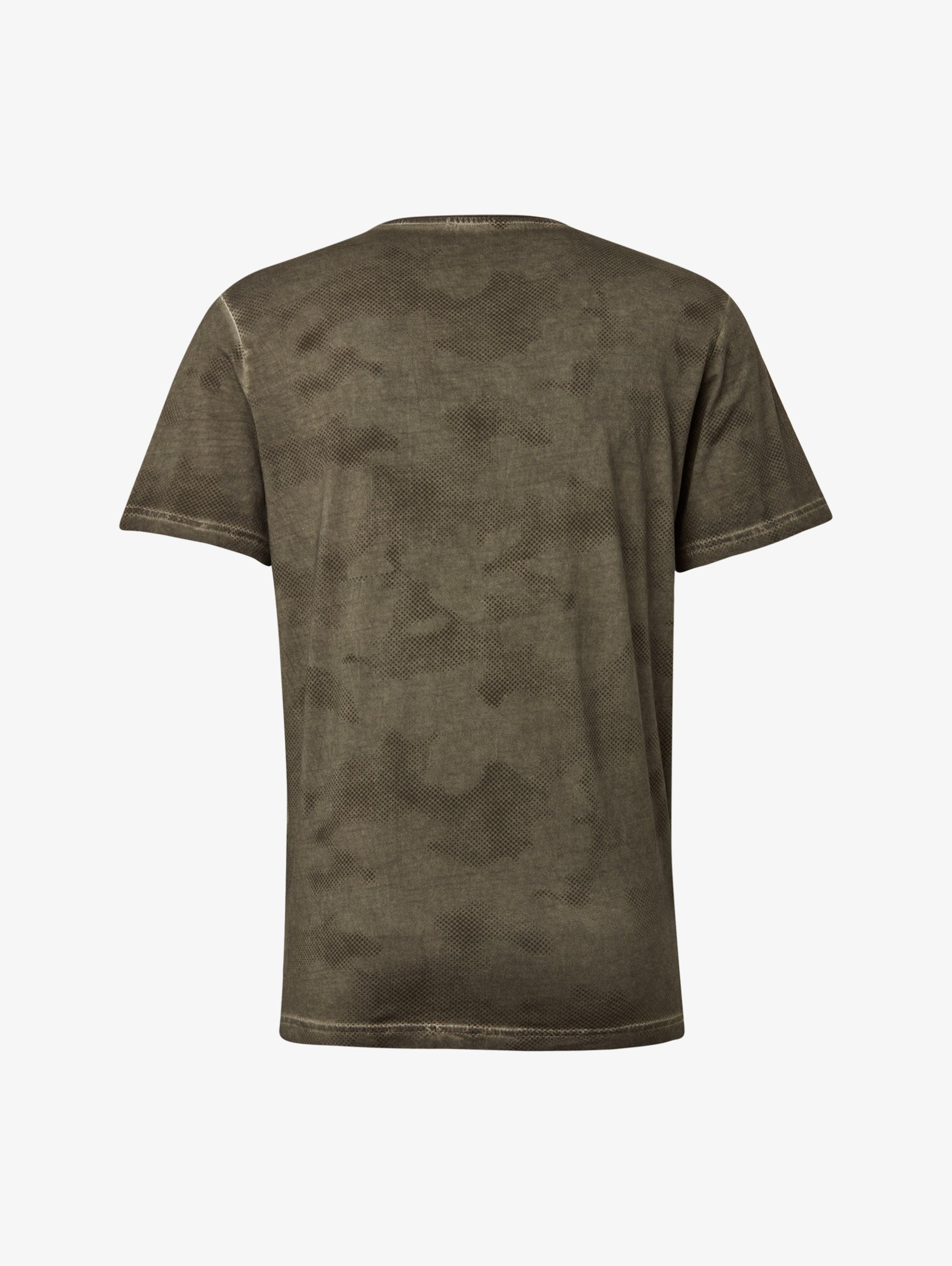 In KhakiOliv Tom Tailor shirt T OnwPXN8k0