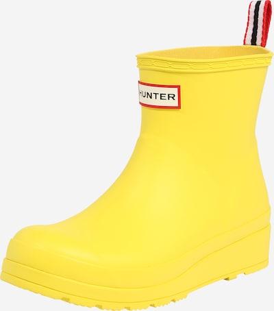 HUNTER Gummistiefel 'Play' in gelb, Produktansicht
