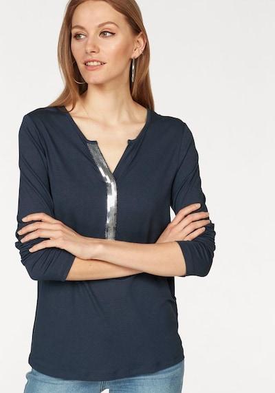 LAURA SCOTT Shirt in rauchblau: Frontalansicht
