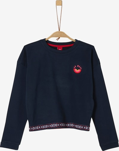 s.Oliver Sweater in navy: Frontalansicht