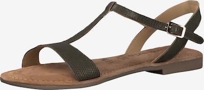 Sandale cu baretă TAMARIS pe oliv, Vizualizare produs