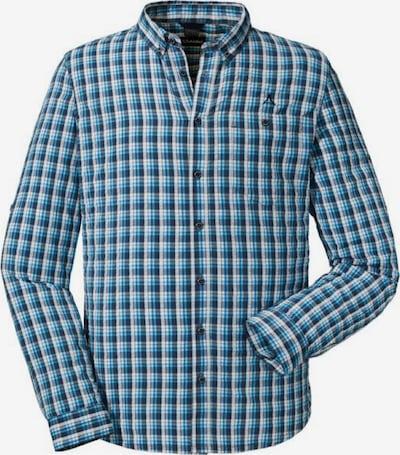 Schöffel Hemd in blau / dunkelblau / weiß, Produktansicht