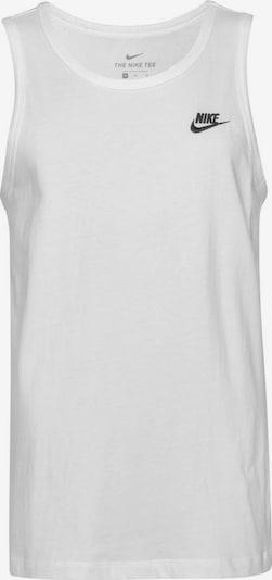 fekete / piszkosfehér Nike Sportswear Póló, Termék nézet