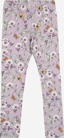 NAME IT Leggings 'Mia' in lila / mischfarben, Produktansicht