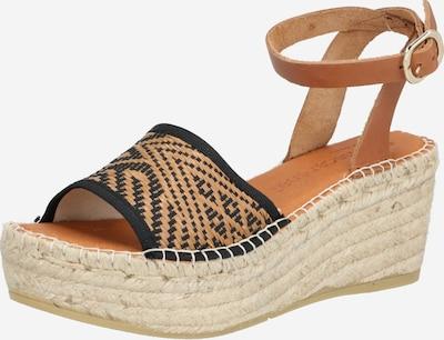 MACARENA Sandalette 'NAYA42' in braun / schwarz, Produktansicht