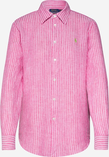 POLO RALPH LAUREN Blouse in de kleur Pink / Wit, Productweergave