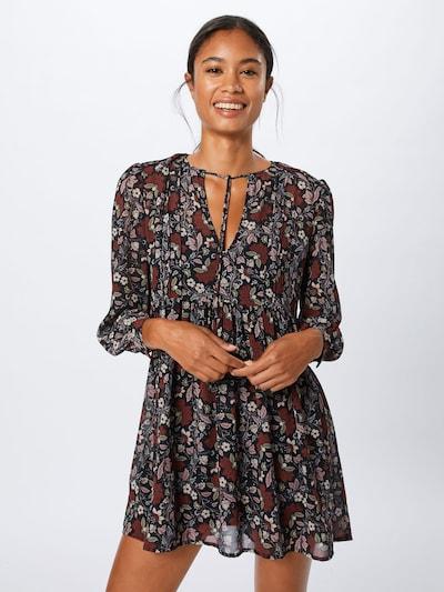 Pepe Jeans Kleid 'Tari' in weinrot / schwarz, Modelansicht