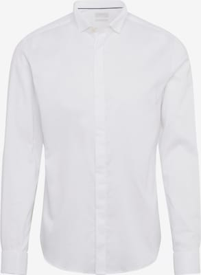 Chemise business 'Smoking' - Esprit Collection en blanc