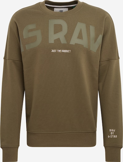G-Star RAW Sweatshirt in dunkelgrün, Produktansicht