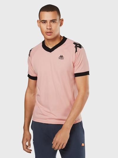 KAPPA T-Shirt 'Ramzy' in rosa / schwarz, Produktansicht