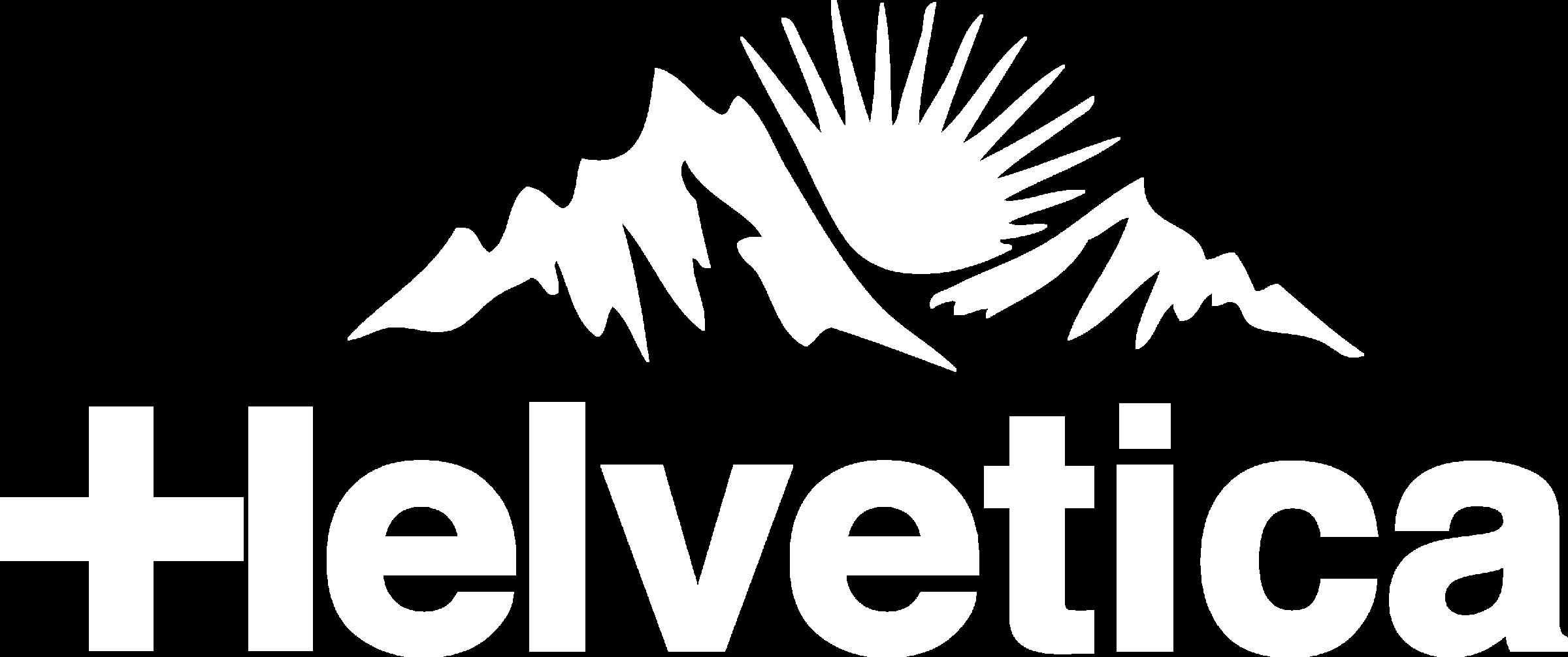 Helvetica Mountain Pioneers Logo
