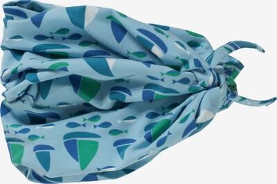 FINKID Schal 'TUUBI CAMPER' in blau / hellblau, Produktansicht