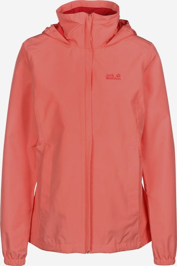 JACK WOLFSKIN Outdoor jacket 'STORMY POINT' in Coral, Item view
