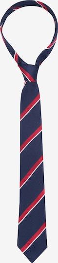 SEIDENSTICKER Krawatte 'Schwarze Rose' in blau / rot, Produktansicht