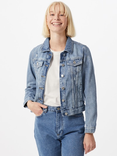 Tally Weijl Jacke in blue denim, Modelansicht