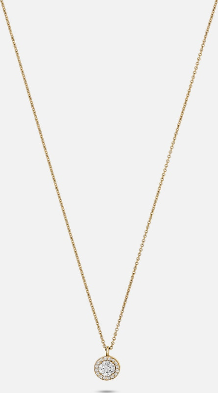 FAVS. Kette in gold: Frontalansicht