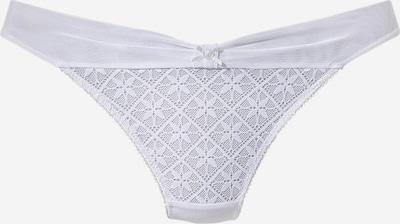 ABRACADA BRA Tanga in weiß, Produktansicht