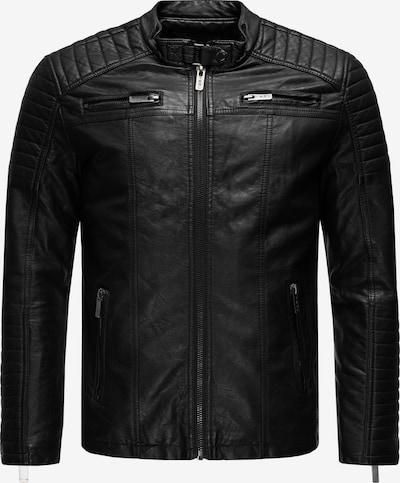 Redbridge Bikerjacke in schwarz, Produktansicht