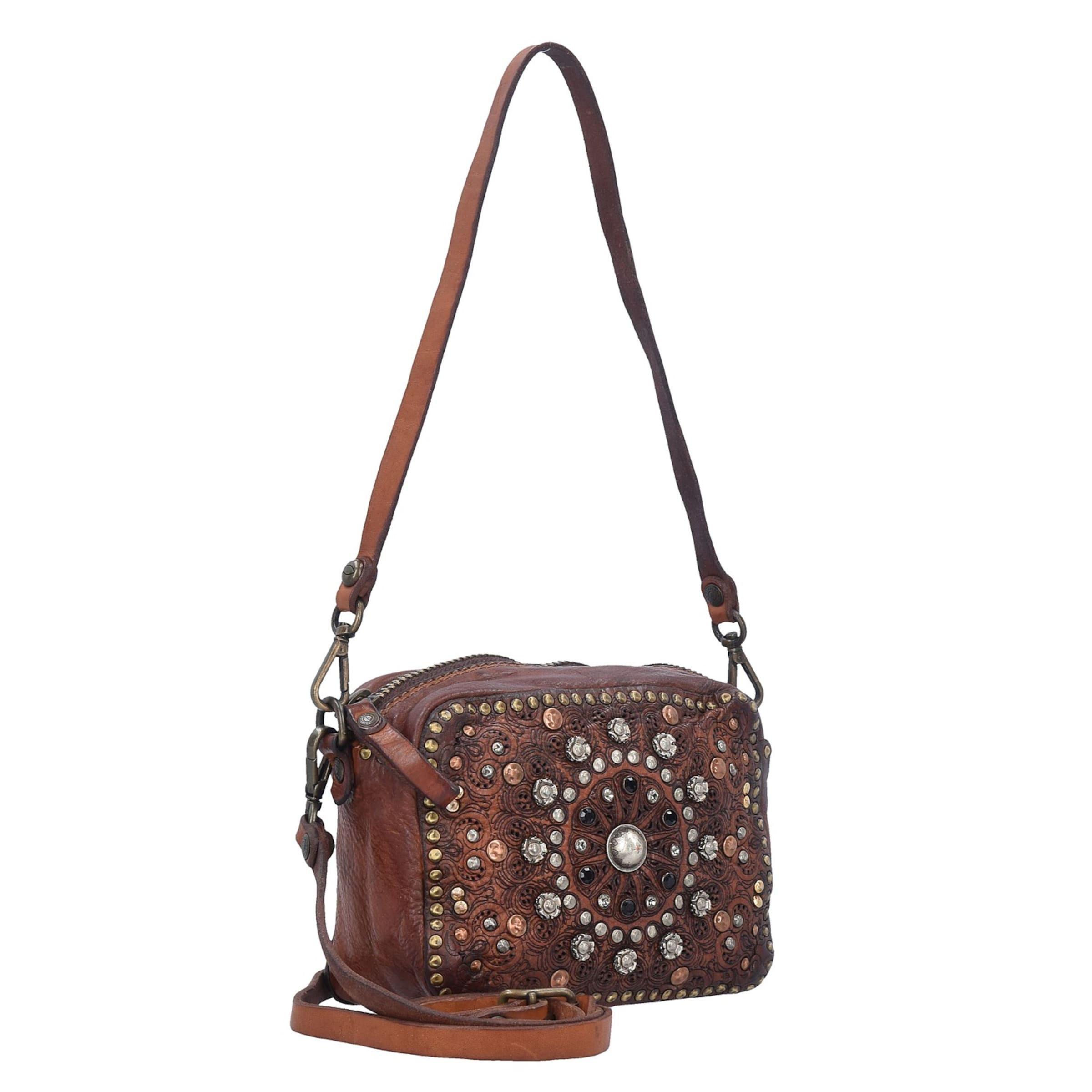 Spielraum Original Campomaggi Bauletto Mini Bag Umhängetasche Leder 18 cm Verkauf Günstigen Preisen 100% Ig Garantiert Günstiger Preis Online Einkaufen yq0K5KE