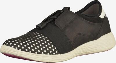 TAMARIS Sneaker in schwarz / silber / weiß, Produktansicht