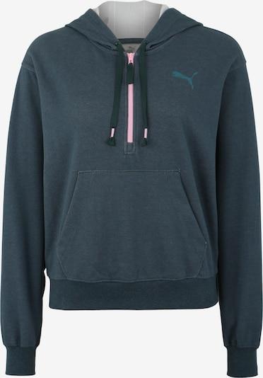 PUMA Sweatshirt 'Feel It Cover up' in petrol / hellpink, Produktansicht