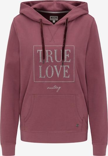 MUSTANG Sweatshirt 'Bella' in rosé, Produktansicht