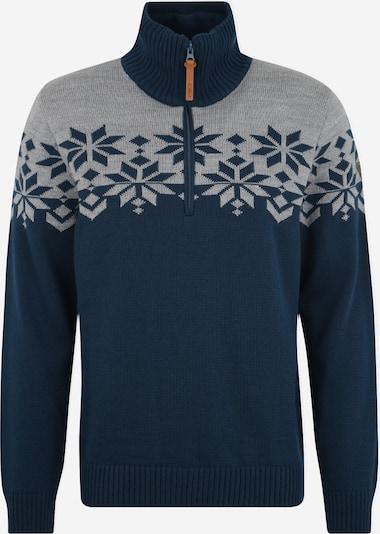 CMP Sport-Pullover in dunkelblau / grau, Produktansicht