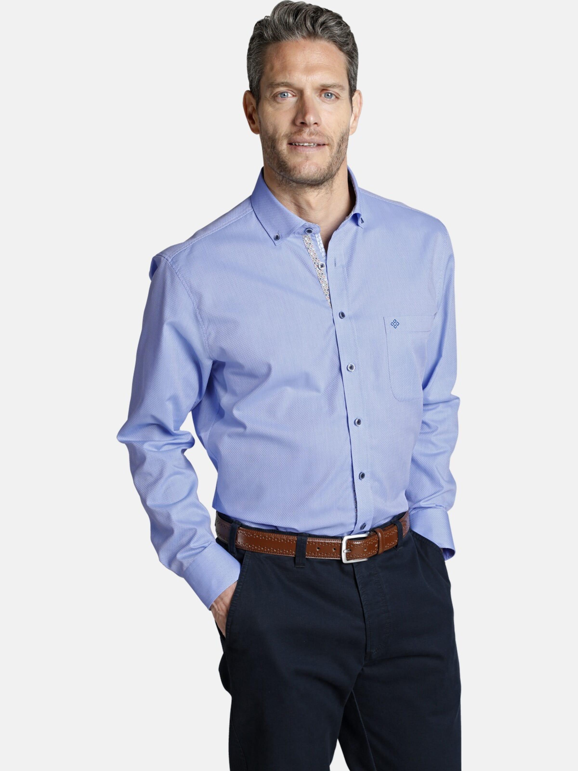 Hemd In Blau Charles Colby 'conal' 76Ybfgy