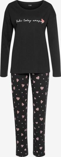 VIVANCE Pyjama 'Dreams' in schwarz, Produktansicht