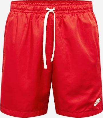 Nike Sportswear Athletic Pants in Red