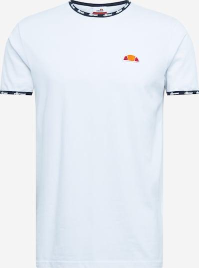 ELLESSE Shirt 'EDEN' in nachtblau / orange / rot / weiß, Produktansicht