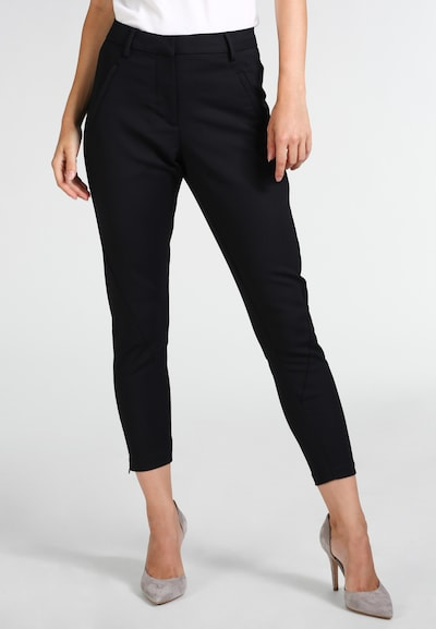 FIVEUNITS Jeggings 'ANGELIE ZIP 238' in schwarz, Modelansicht