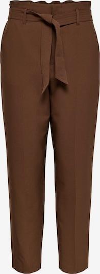 ONLY Pantalon à plis en caramel, Vue avec produit