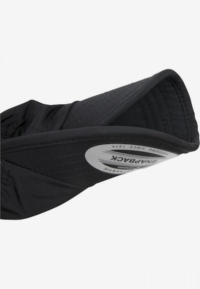 Flexfit Cap 'Unstructured Trucker' in schwarz, Produktansicht