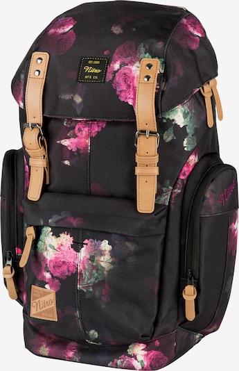 NitroBags Rucksack in mischfarben / schwarz, Produktansicht