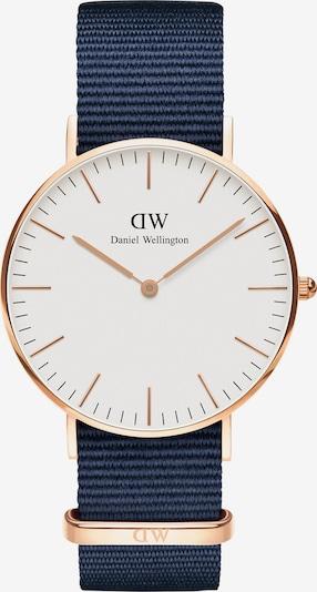 Daniel Wellington Uhr 'Classic 36 Bayswater' in taubenblau / rosegold / weiß, Produktansicht