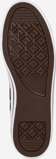 CONVERSE Zemie apavi 'Chuck Taylor All Star' pieejami melns / balts: Skats no apakšas