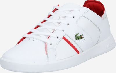 Sneaker low 'NOVAS' LACOSTE pe roșu / alb, Vizualizare produs