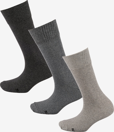 SKECHERS Socken in grau / schwarz, Produktansicht