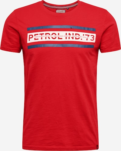 Petrol Industries Shirt in rot, Produktansicht